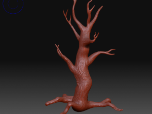 Sculpted tree